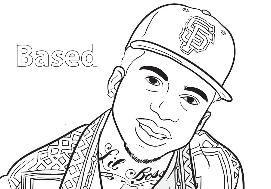Free Drake Coloring Pages Fan Drawing printable