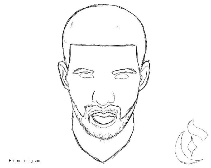 Free Drake Coloring Pages by calvincoolridge printable