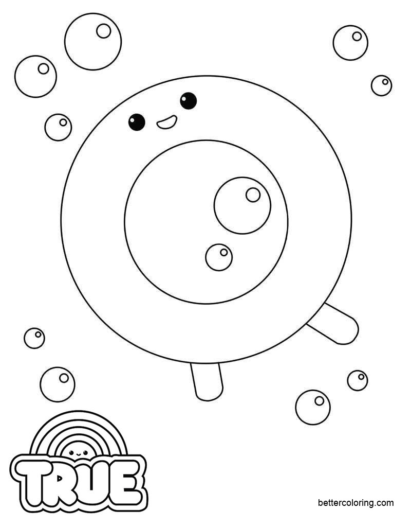 Free Floto from True and the Rainbow Kingdom Coloring Pages printable