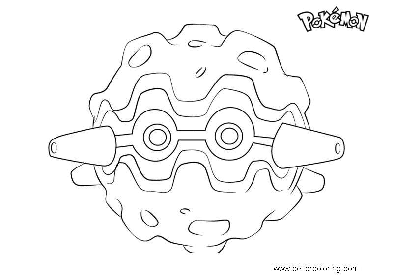 Free Forretress from Pokemon Coloring Pages printable