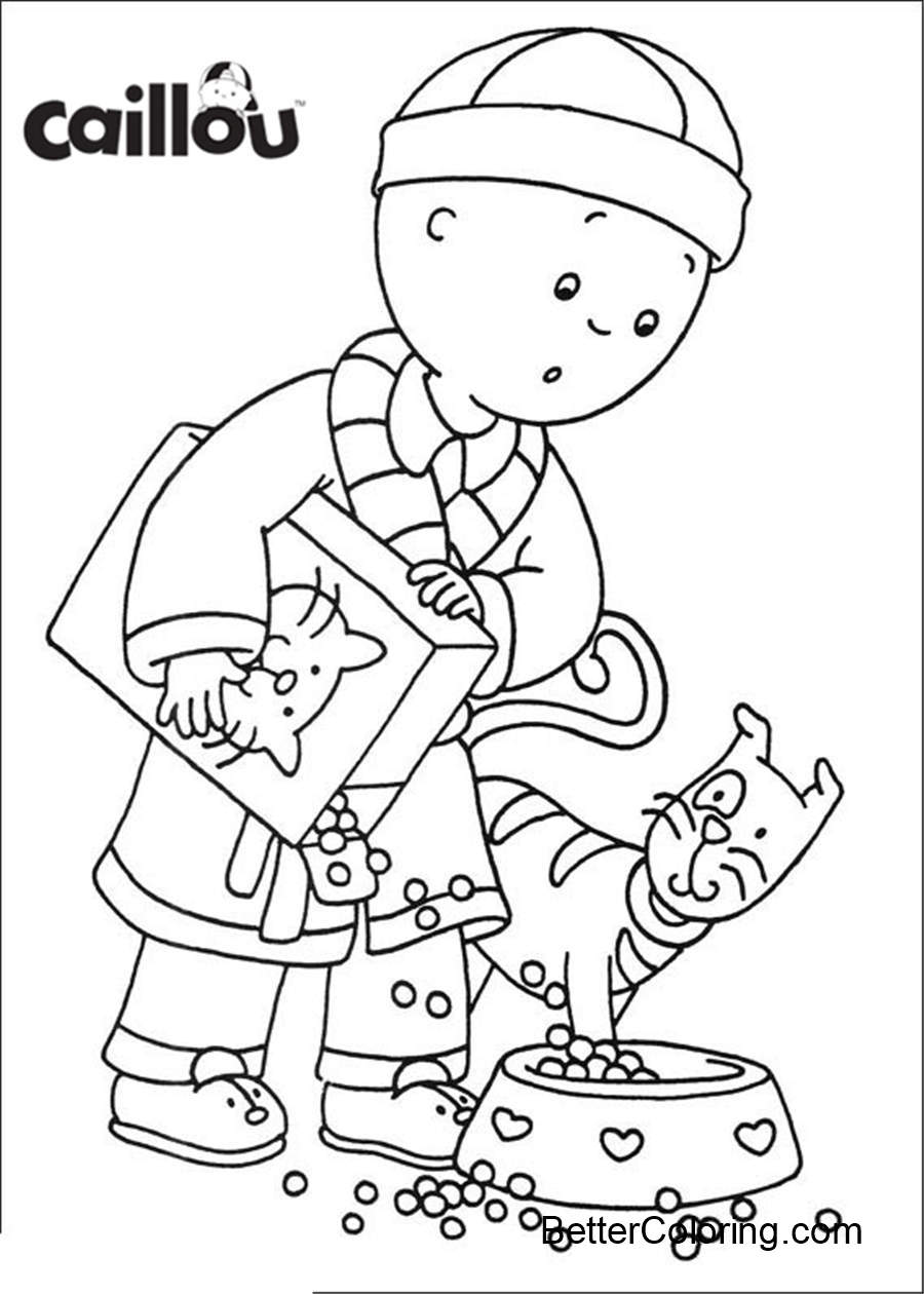 Free Free Printable Caillou Coloring Pages Canadian printable