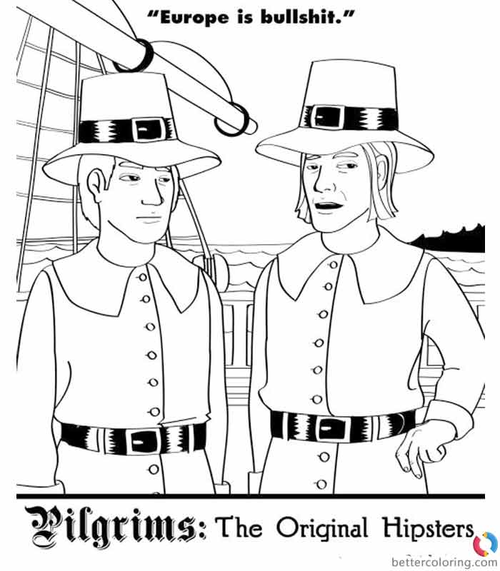 Free Hipster Coloring Pages The Original Hipsters printable