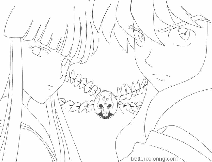 Free InuYasha Coloring Pages by jigokusorry printable