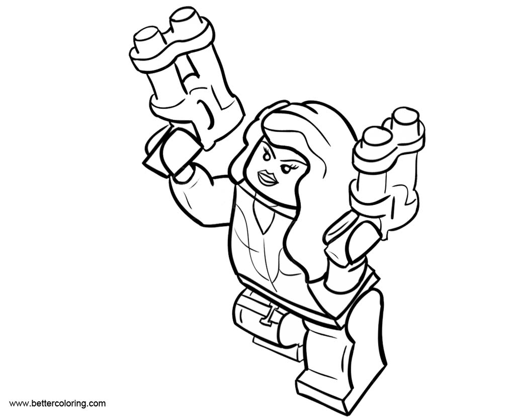 Download Avengers Coloring Pages Here Blackwidow: LEGO Black Widow Coloring Pages Black And White