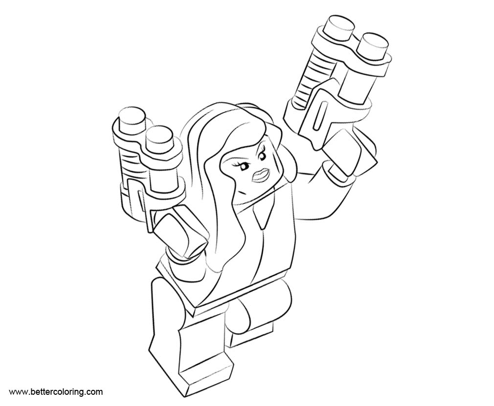 free black widow coloring pages - photo#19