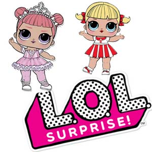 Free Printable LOL Surprise Doll Coloring Pages