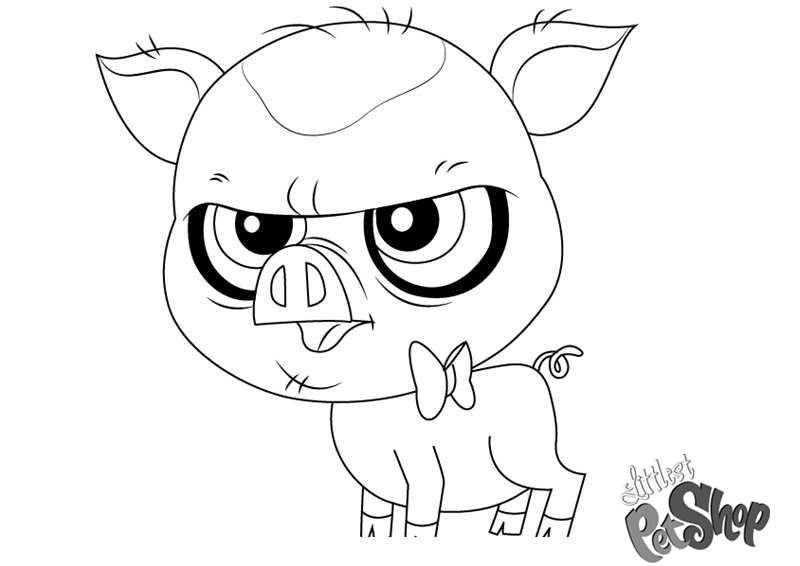 Littlest Pet Shop Coloring Pages Mary Frances Free Printable