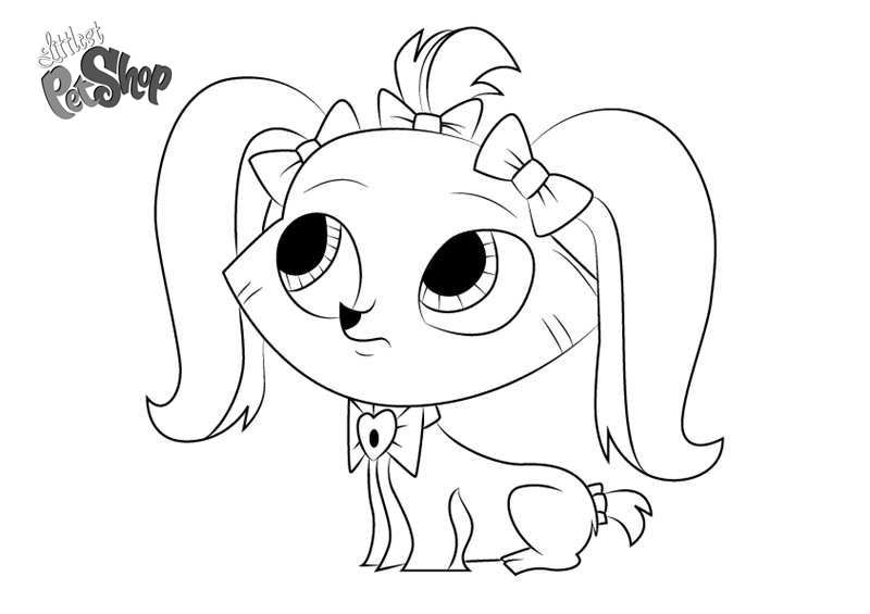 Free Littlest Pet Shop Coloring Pages Princess Stori Jameson printable