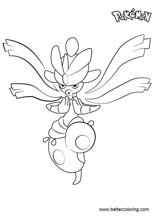 Free Mega Medicham from Pokemon Coloring Pages printable