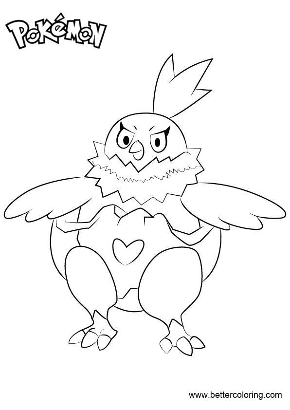 Free Pokemon Coloring Pages Vullaby printable