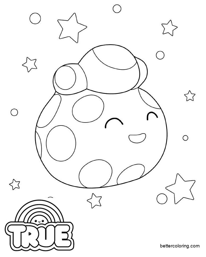 True and the Rainbow Kingdom Coloring Pages Hushabye ...