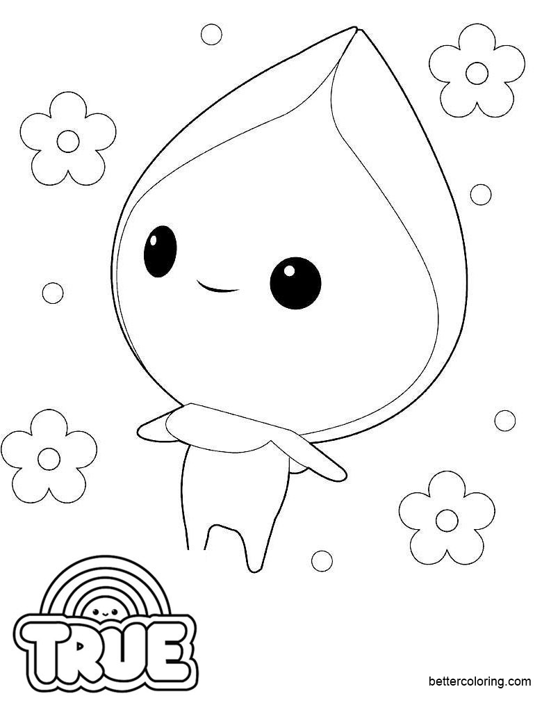 Free True and the Rainbow Kingdom Coloring Pages Smelfer printable
