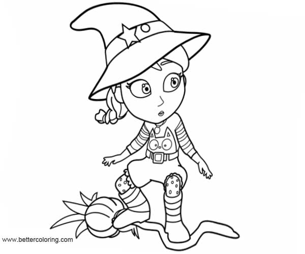Dibujos Para Colorear Vampirina: Witch Vampirina Coloring Pages