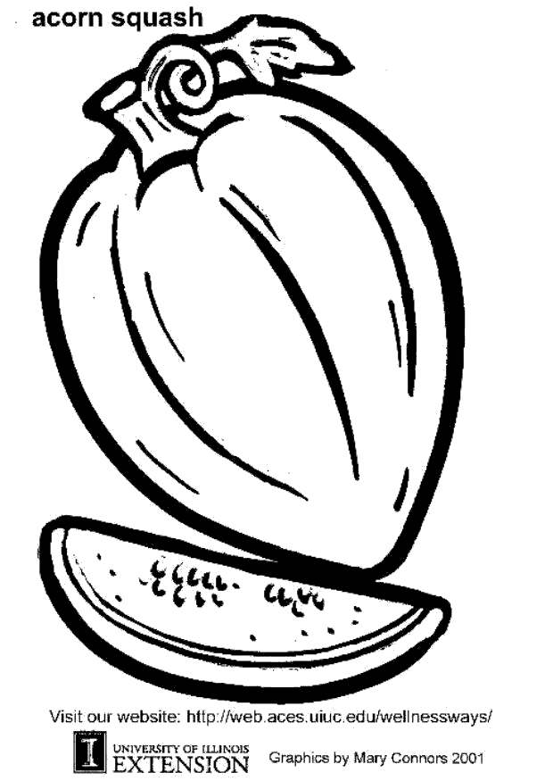 Free Acorn Coloring Pages Clip Art printable