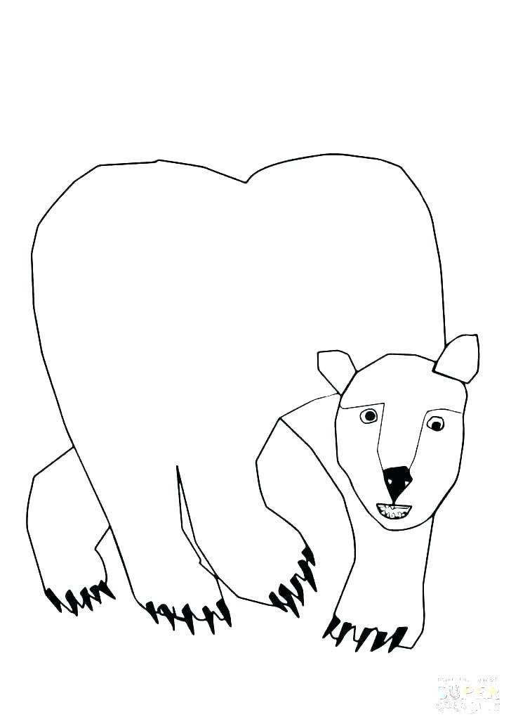 Free Brown Bear Brown Bear Coloring Pages Free to Print printable