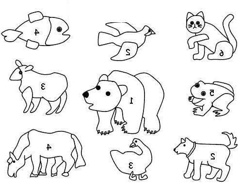 Brown Bear Brown Bear Coloring Pages and Many Friends