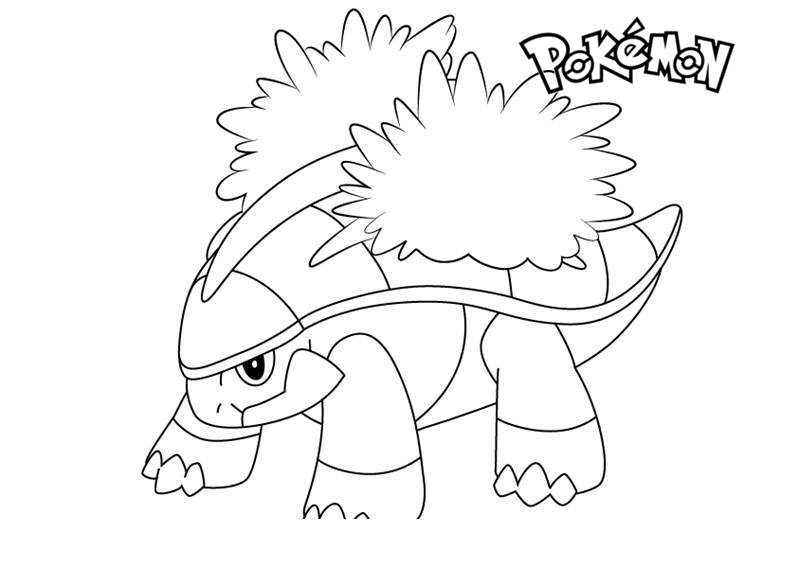Free Grotle from Pokemon Coloring Pages printable