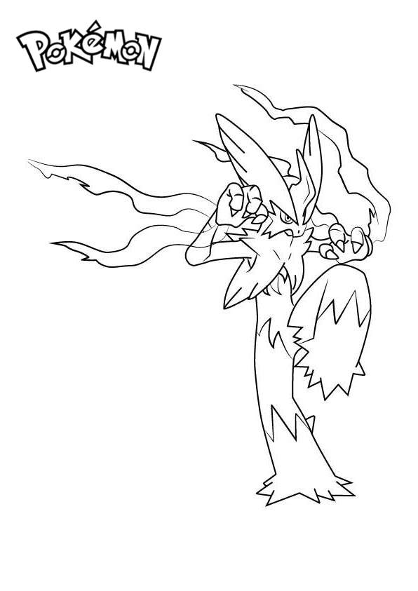 coloring pages blaziken - photo#14
