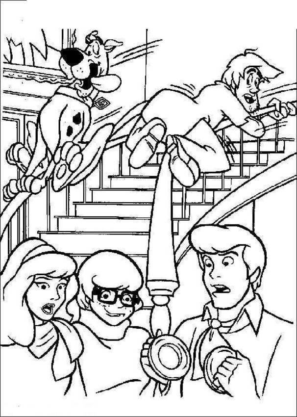 Free Scooby Doo Coloring Pages Coloring Book printable