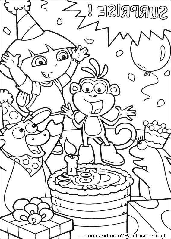 free download dora coloring pages - photo#37