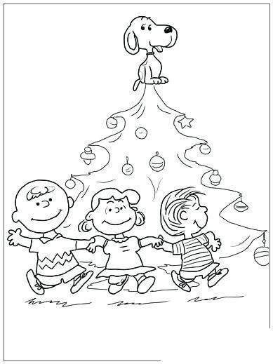 Free Charlie Brown Coloring Pages Line Drawing printable