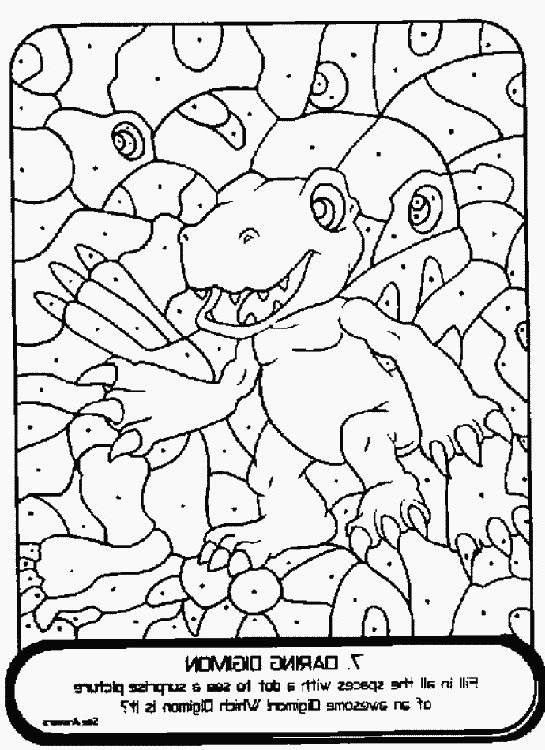 Free Collection of Digimon Coloring Pages Line Drawing printable