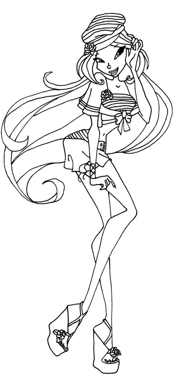 Free Collection of Winx Coloring Pages Coloring Sheets printable