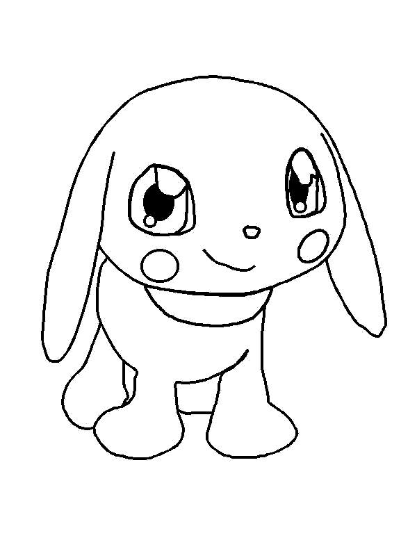Fancy Digimon Coloring Pages Characters - Free Printable Coloring Pages