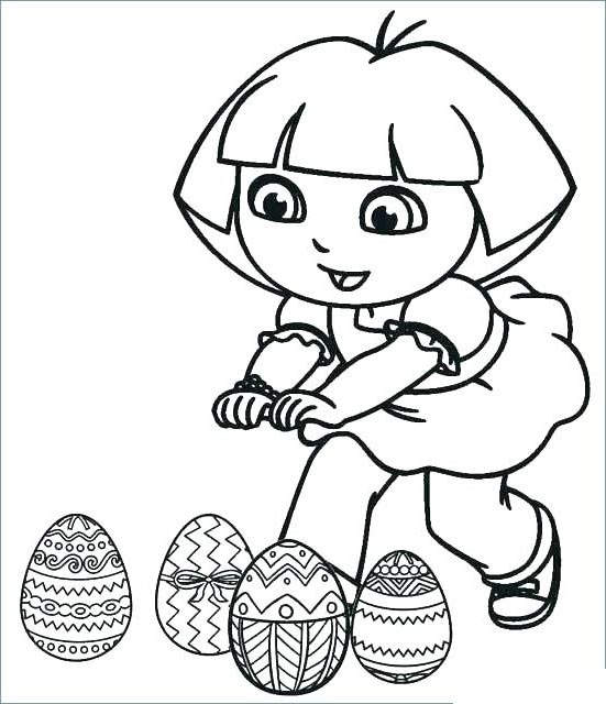 Free Fancy Dora The Explorer Coloring Pages Drawings printable