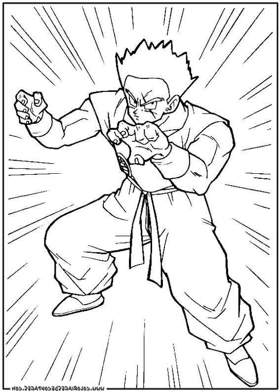 6600 Free Printable Coloring Pages Dragon Ball Z Download Free Images