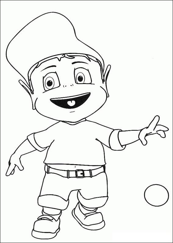 Free Free Adiboo Coloring Pages Sketch 45 printable