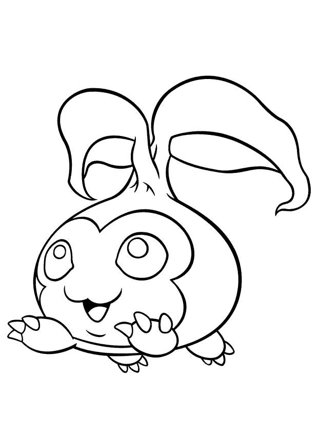 Free Digimon Coloring Pages Outline - Free Printable Coloring Pages