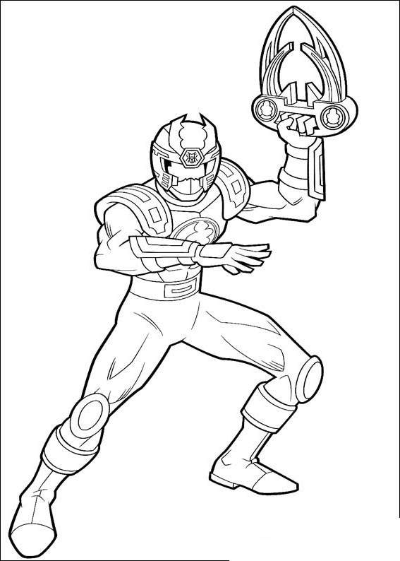 Free Free Power Rangers Coloring Pages for Kids printable