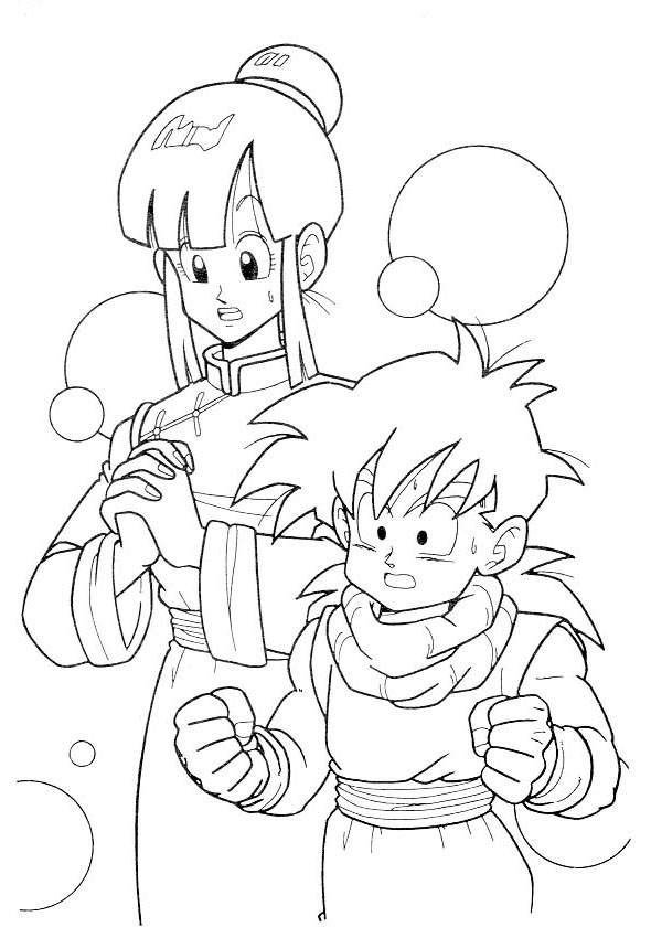 Fresh Dragon Ball Z Coloring Pages Coloring Book Free Printable