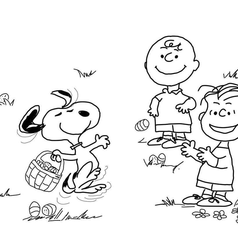 How To Draw Charlie Brown Coloring Pages Free Printable Coloring Pages - Charlie-brown-coloring-page