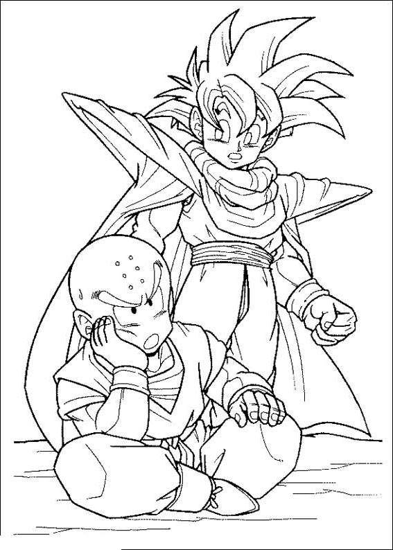 dragon ball z coloring pages | Inspirational Dragon Ball Z Coloring Pages Lineart - Free ...