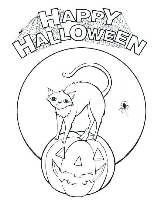 Free Jack o Lantern Coloring Pages Coloring Sheets printable