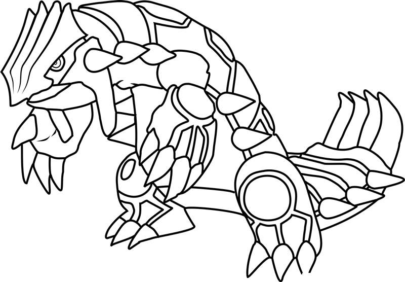 Free Legendary Pokemon Coloring Pages Activity printable