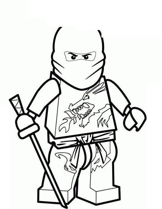 Free Movie LEGO Ninjago Coloring Pages Coloring Book printable