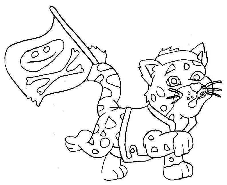 Free New Dora The Explorer Coloring Pages Lineart printable