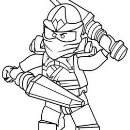 Free New LEGO Ninjago Coloring Pages Drawings printable