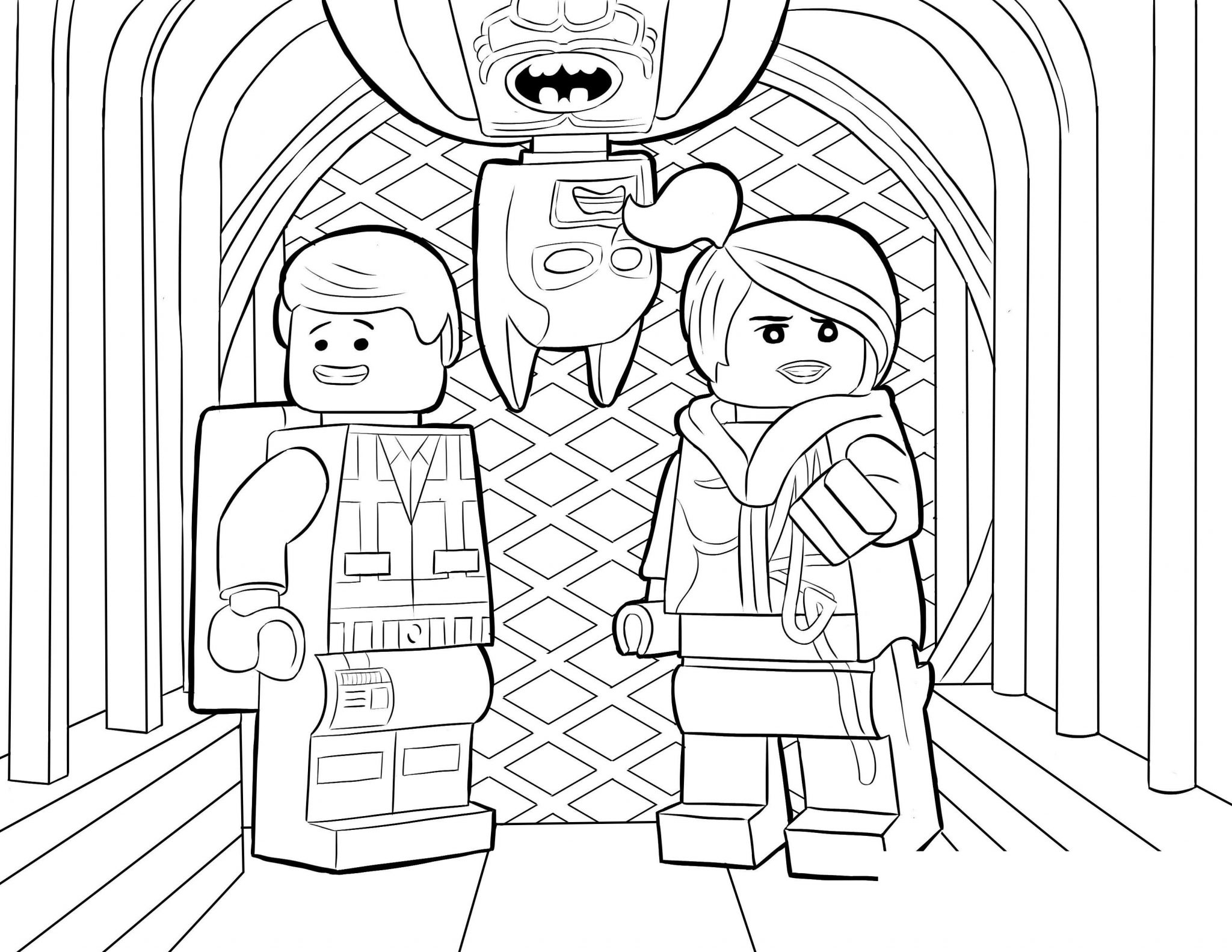 Free New LEGO Ninjago Coloring Pages for Boys printable