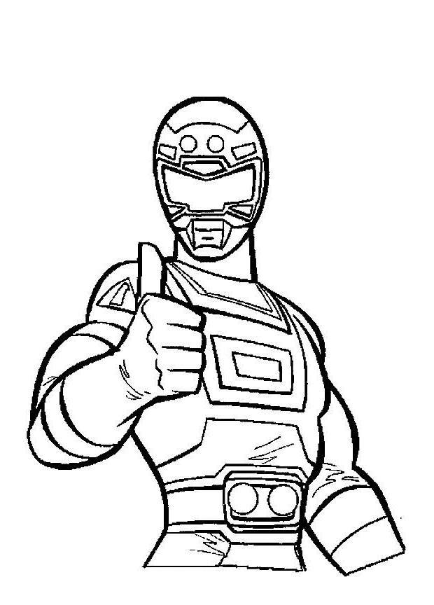 New Power Rangers Coloring Pages Free To Print Free Printable