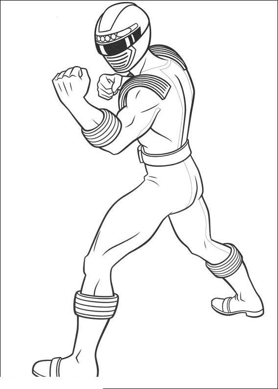 Free New Power Rangers Coloring Pages for Kids printable