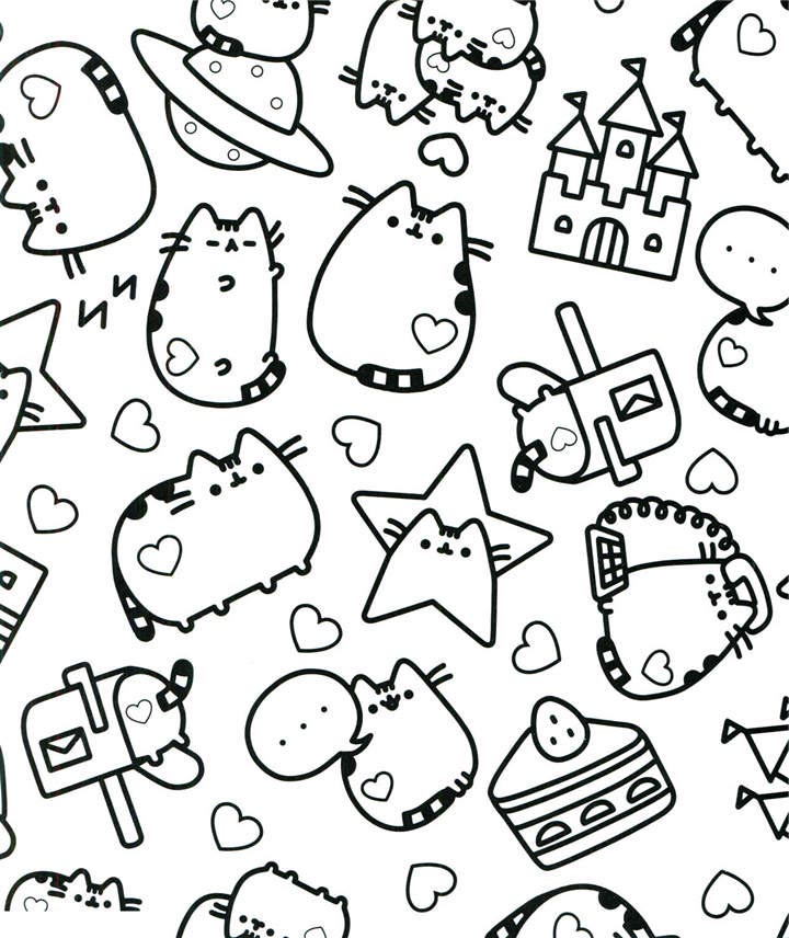 image about Free Printable Pusheen Coloring Pages identify Fresh Pusheen Coloring Webpages Printable - Totally free Printable