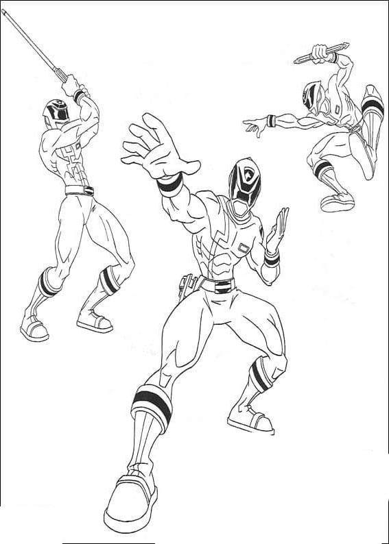 Power Rangers Coloring Pages Coloring Book Free Printable Coloring