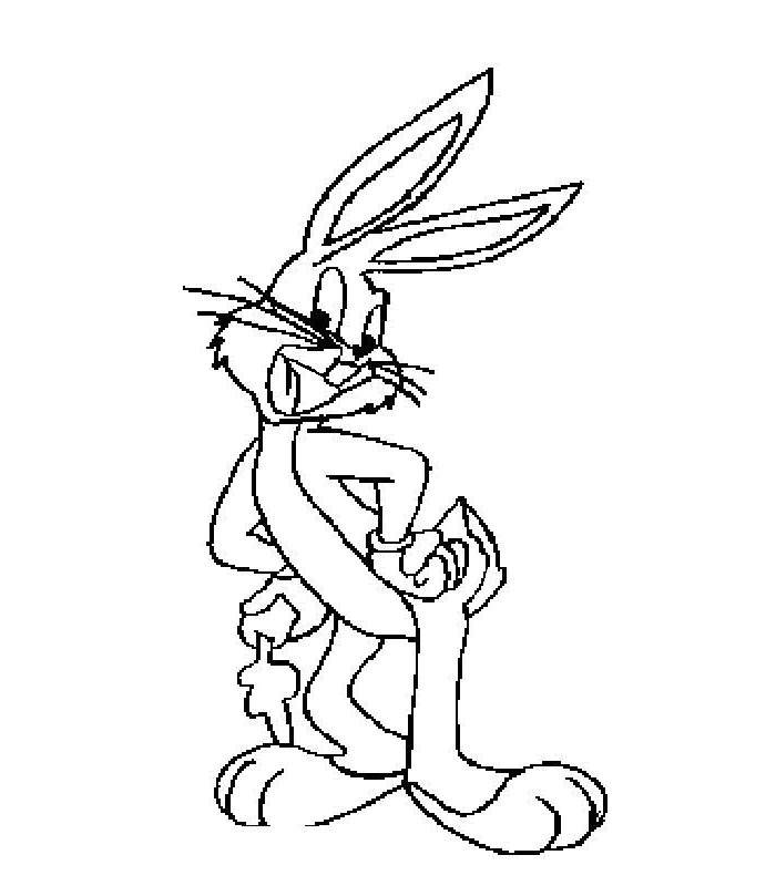 Free Printable Bugs Bunny Coloring Pages Free to Print printable