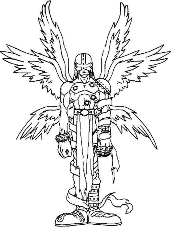 Free Printable Digimon Coloring Pages Drawing Pictures printable