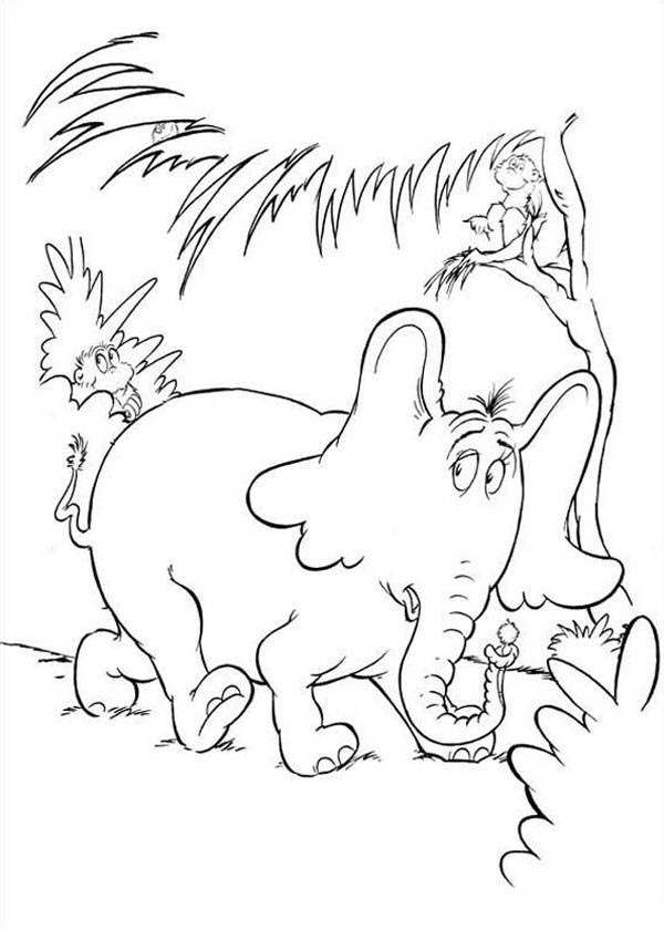 Free Printable Dr Seuss Coloring Pages Coloring Sheets printable