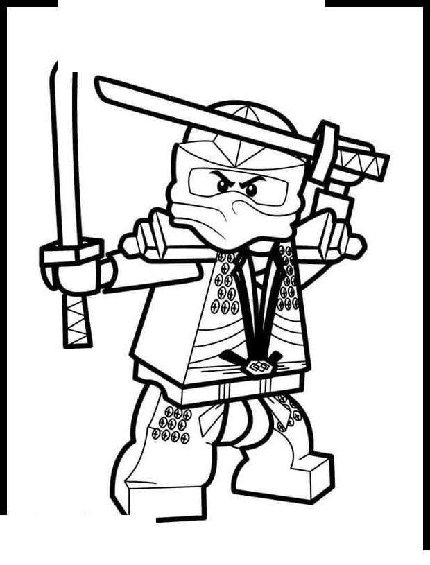 Free Printable LEGO Ninjago Coloring Pages Drawing Pictures printable